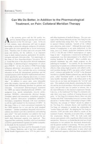 Anaesthesiologica Taiwanica-2