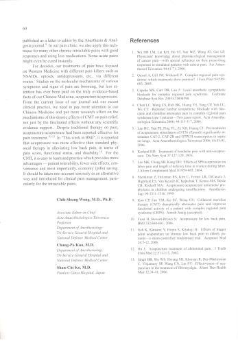 Anaesthesiologica Taiwanica-3